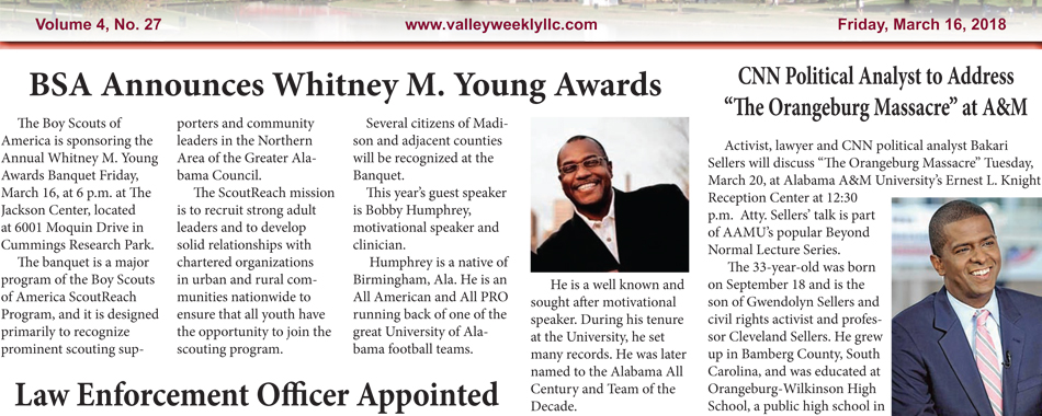 BSA Announces Whitney M. Young Awards
