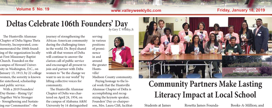 Deltas Celebrate 106th Founders' Day