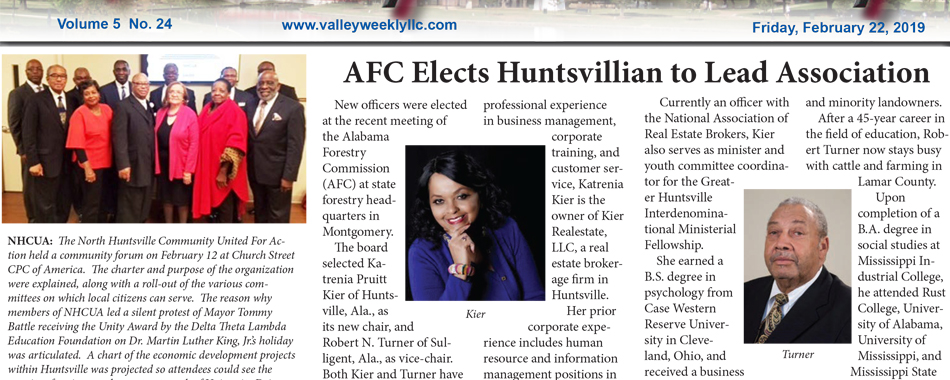 AFC Elects Huntsvillian to Lead Association